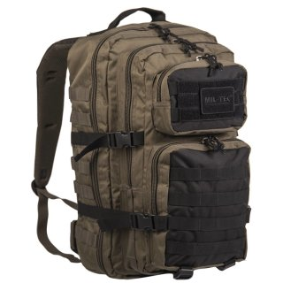 US Assault Pack LG Ranger Green/Schwarz