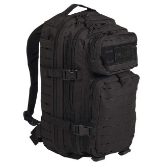 US Assault Pack SM Laser Cut Schwarz