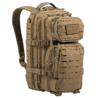 US Assault Pack SM Laser Cut Coyote