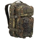 US Assault Pack SM Laser Cut Flecktarn