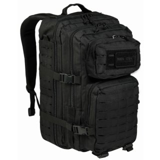 US Assault Pack LG Laser Cut Schwarz