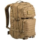 US Assault Pack LG Laser Cut Coyote